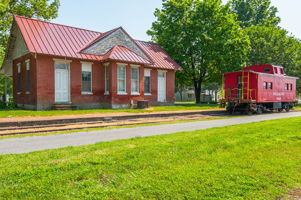 historic train station ridgely md