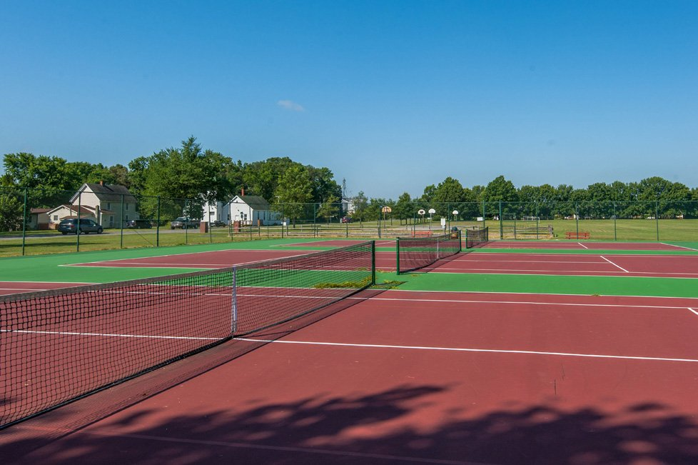 tennis courts ridgely md