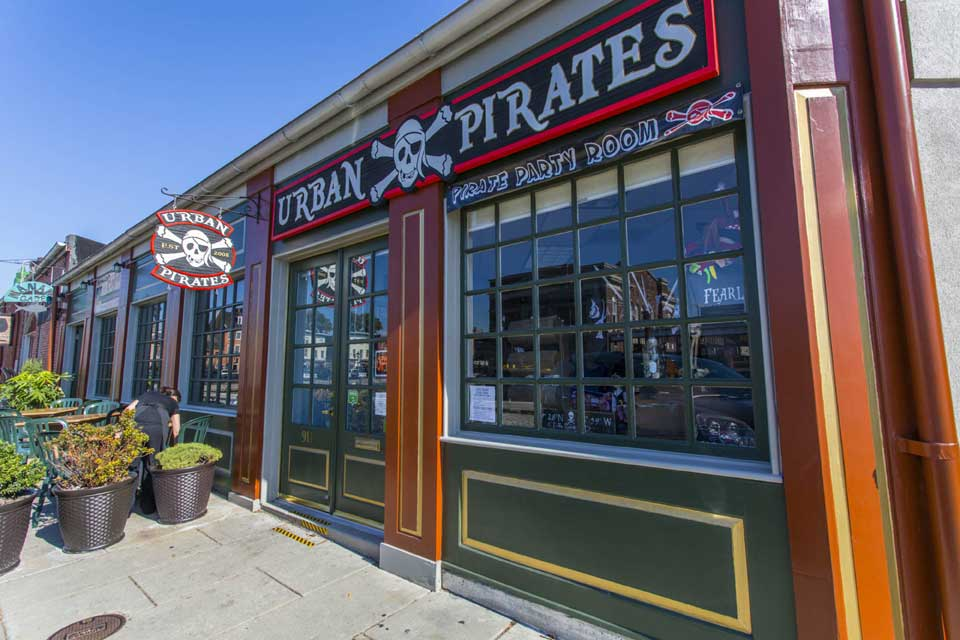 Urban Pirates in Fells Point, Baltimore, MD
