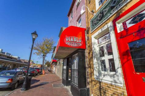 Diablo Donuts in Fells Point, Baltimore, MD