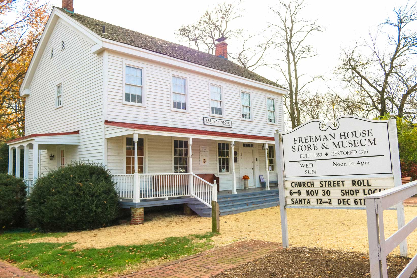 Freeman House Store and Museum in Vienna, VA