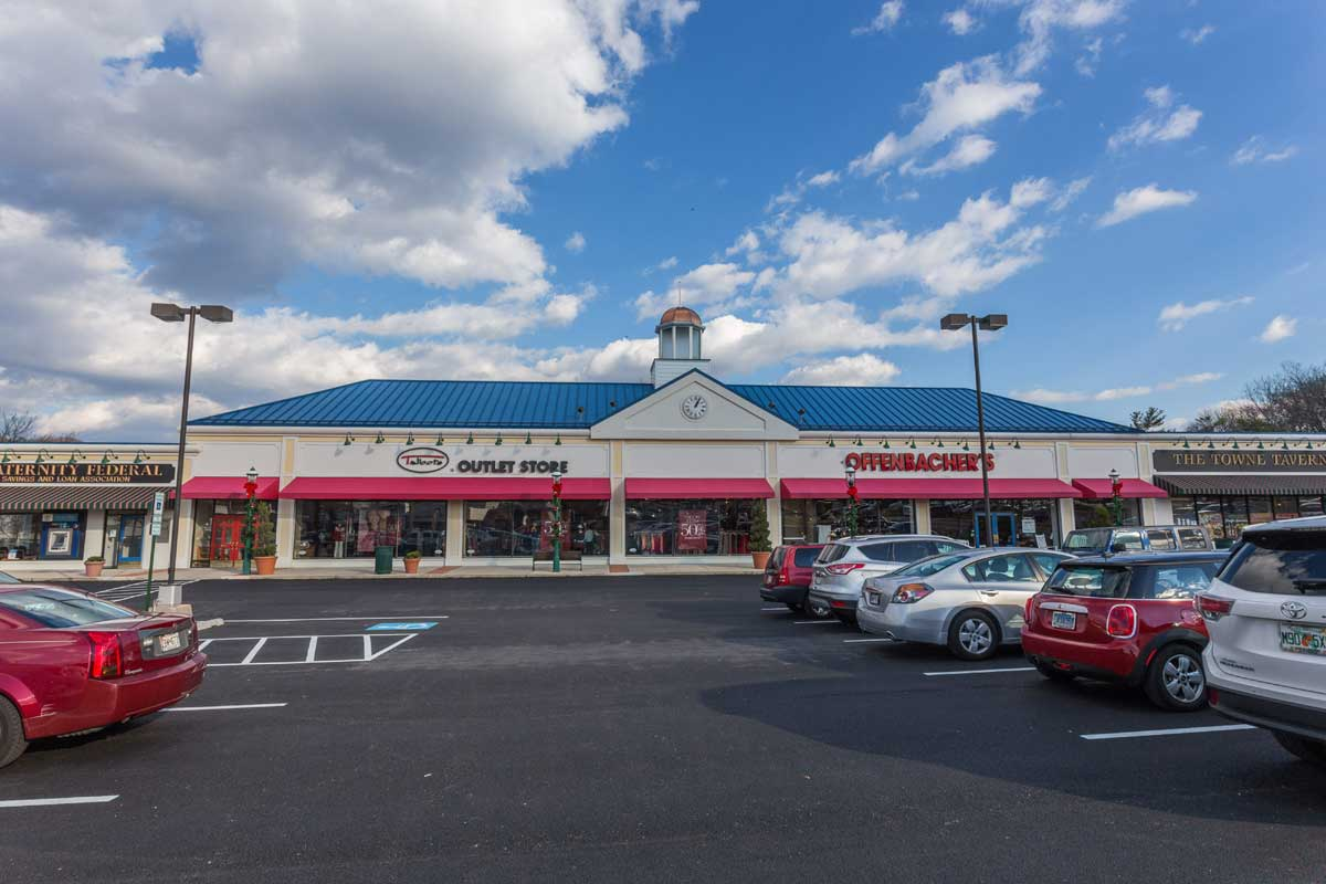 Shopping center in Lutherville, MD