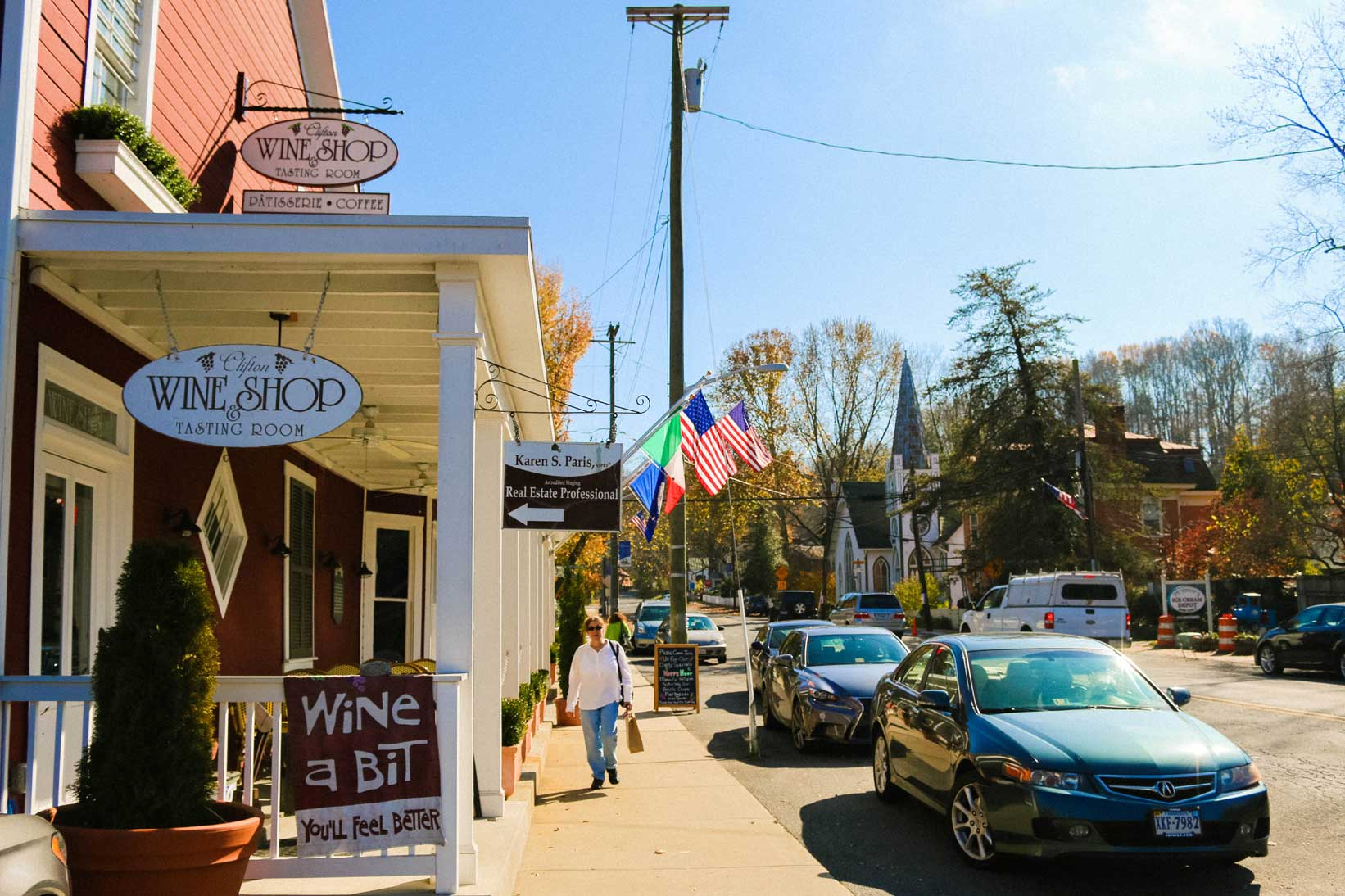 wine shop clifton va