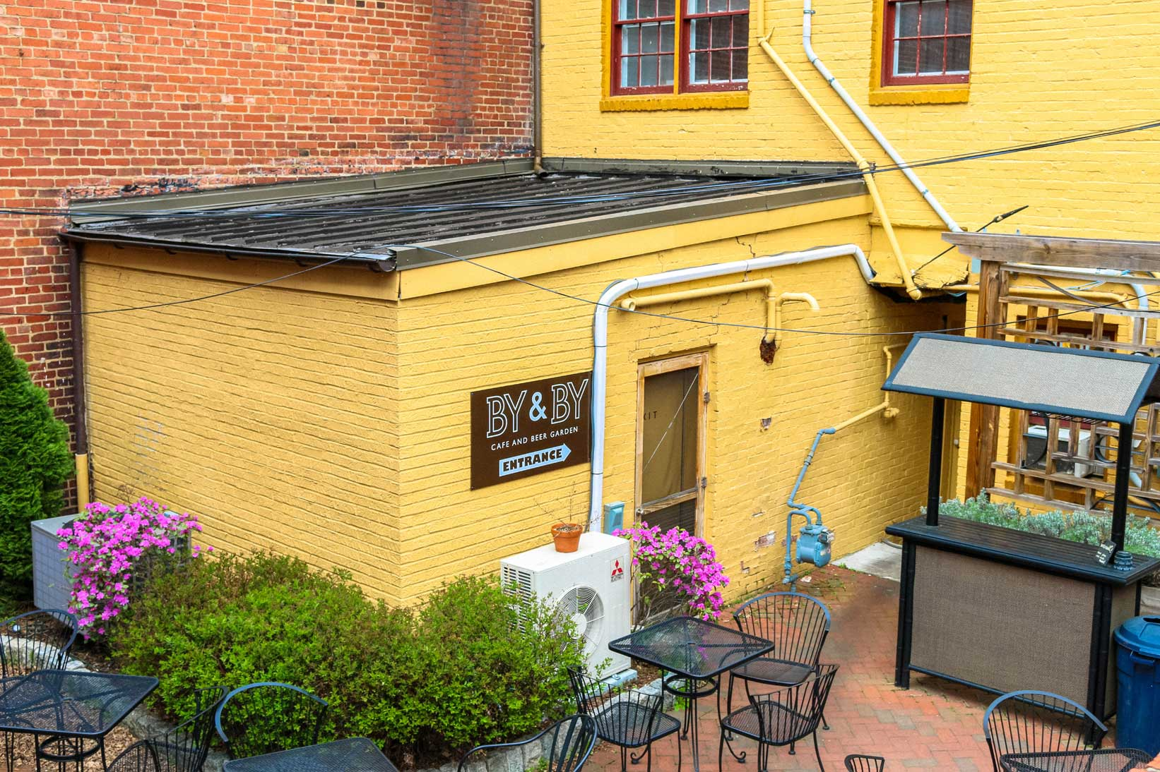 By &  By Beer garden in Staunton, VA