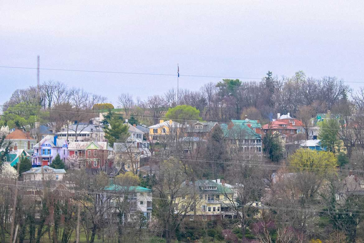 View of staunton homes in Staunton, VA