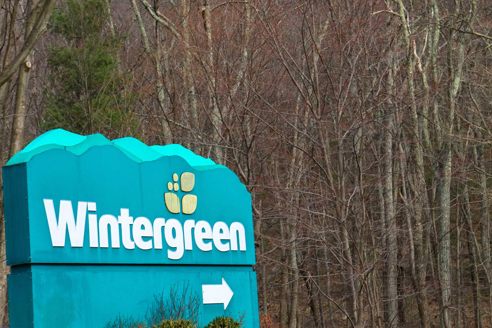 wintergreen resort sign