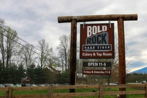 bold rock hard cider wintergreen va