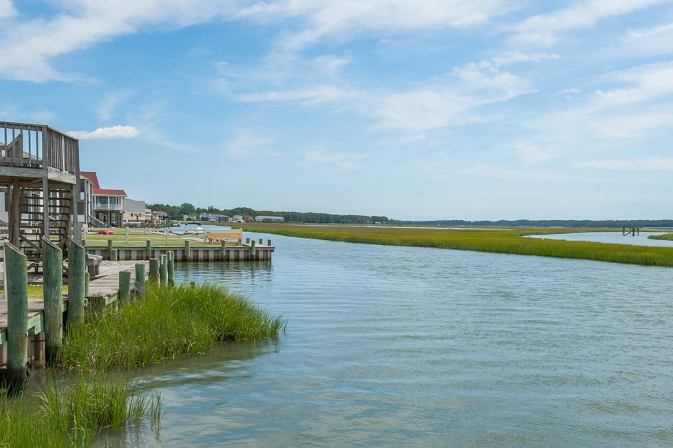 waterfront in chincoteague va