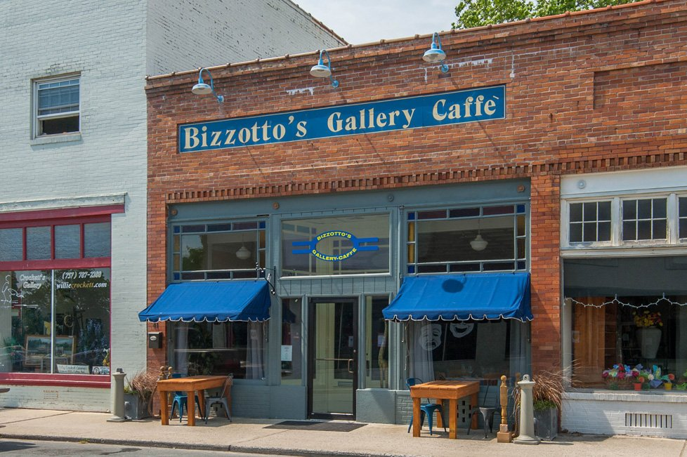 bizzotto's gallery cafe onancock va
