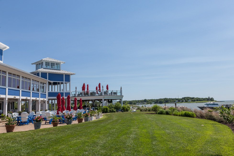 waterfront restaurant on kent island md