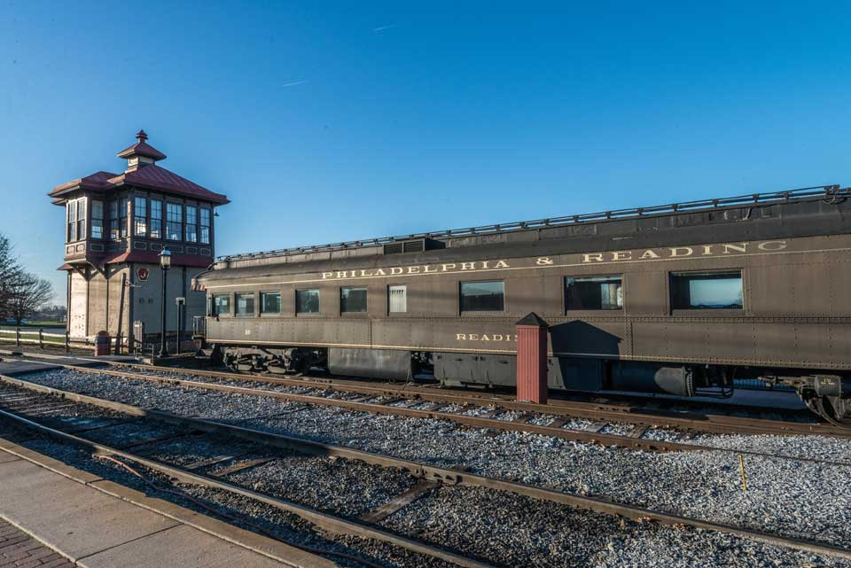 Philadelphia & Reading Railroad in Shrewsbury, PA