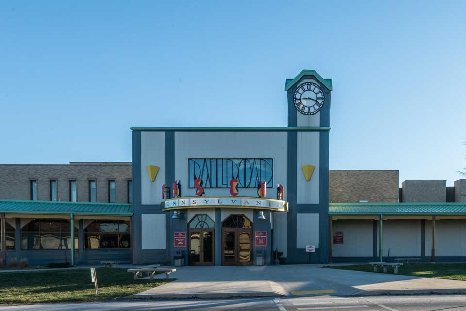 Railroad station in Shrewsbury, PA