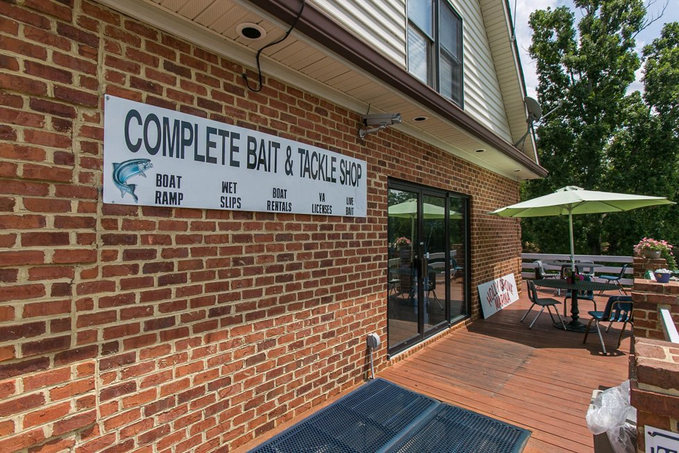 bait & tackle shop in lake gaston va