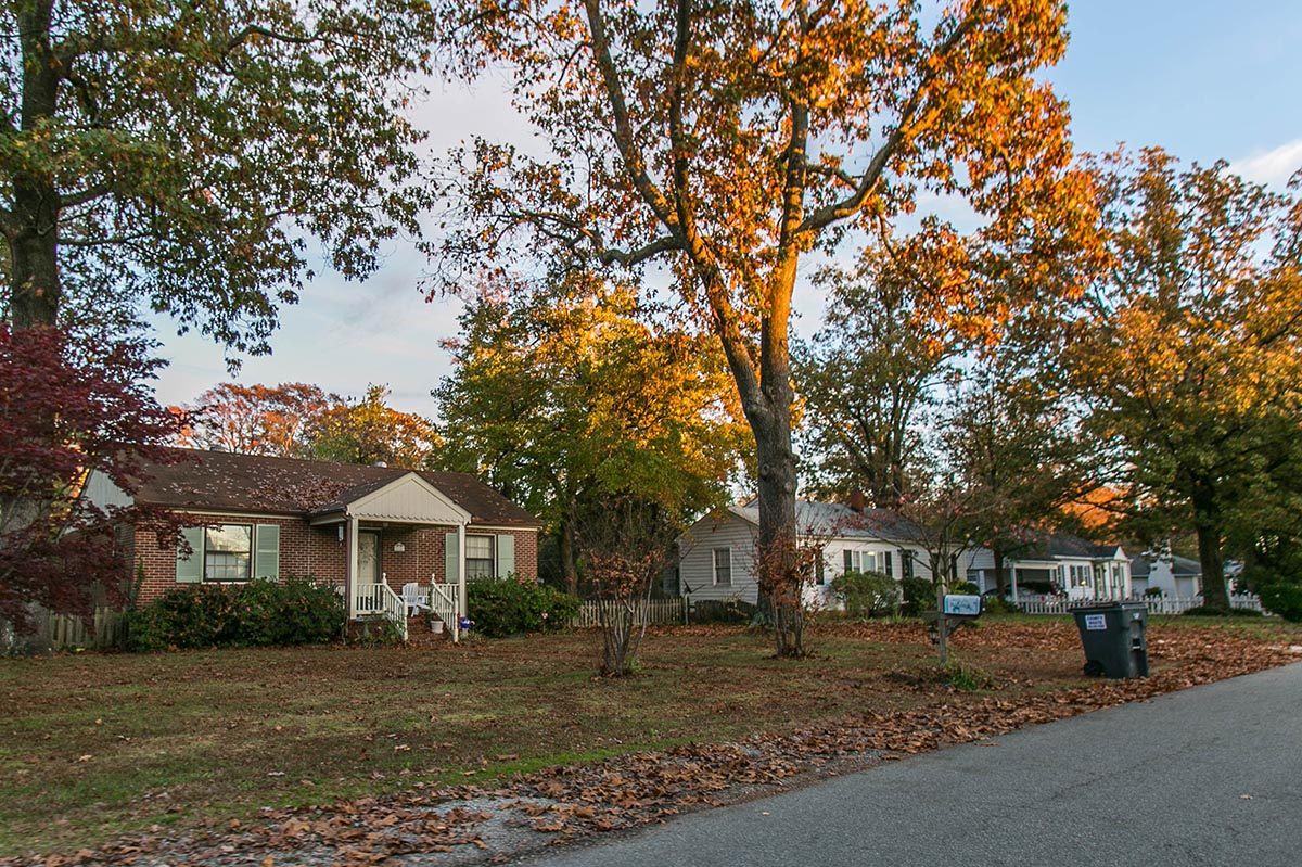 Single family homes with trees in Bon Air, VA