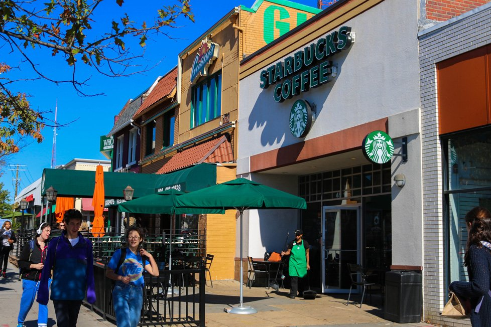 starbucks au park washington dc