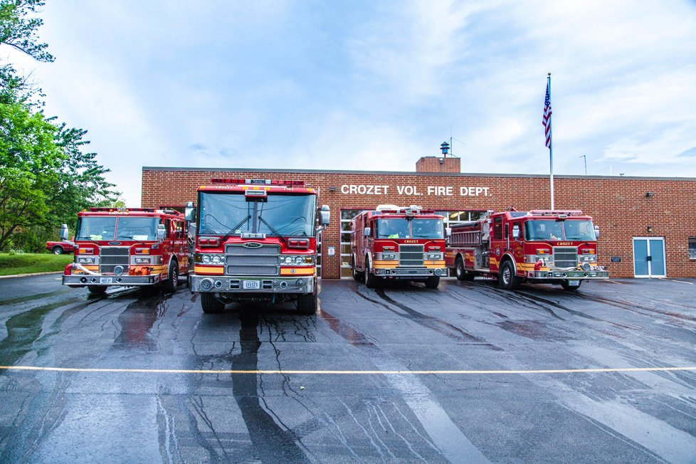 crozet va volunteer fire dept