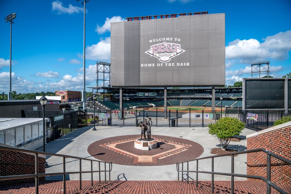 bb & t park in winston-salem nc