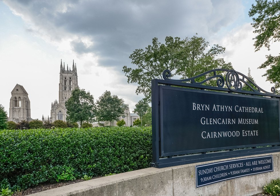 bryn athyn cathedral, cairnwood estate, glencairn museum