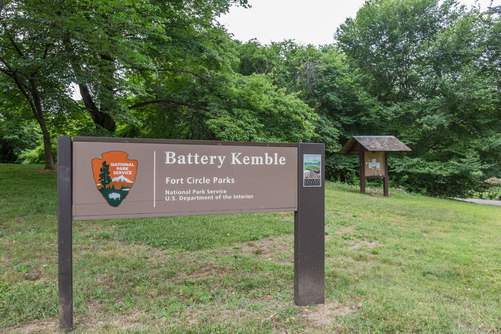 Battery Kemble Park in Kent, DC