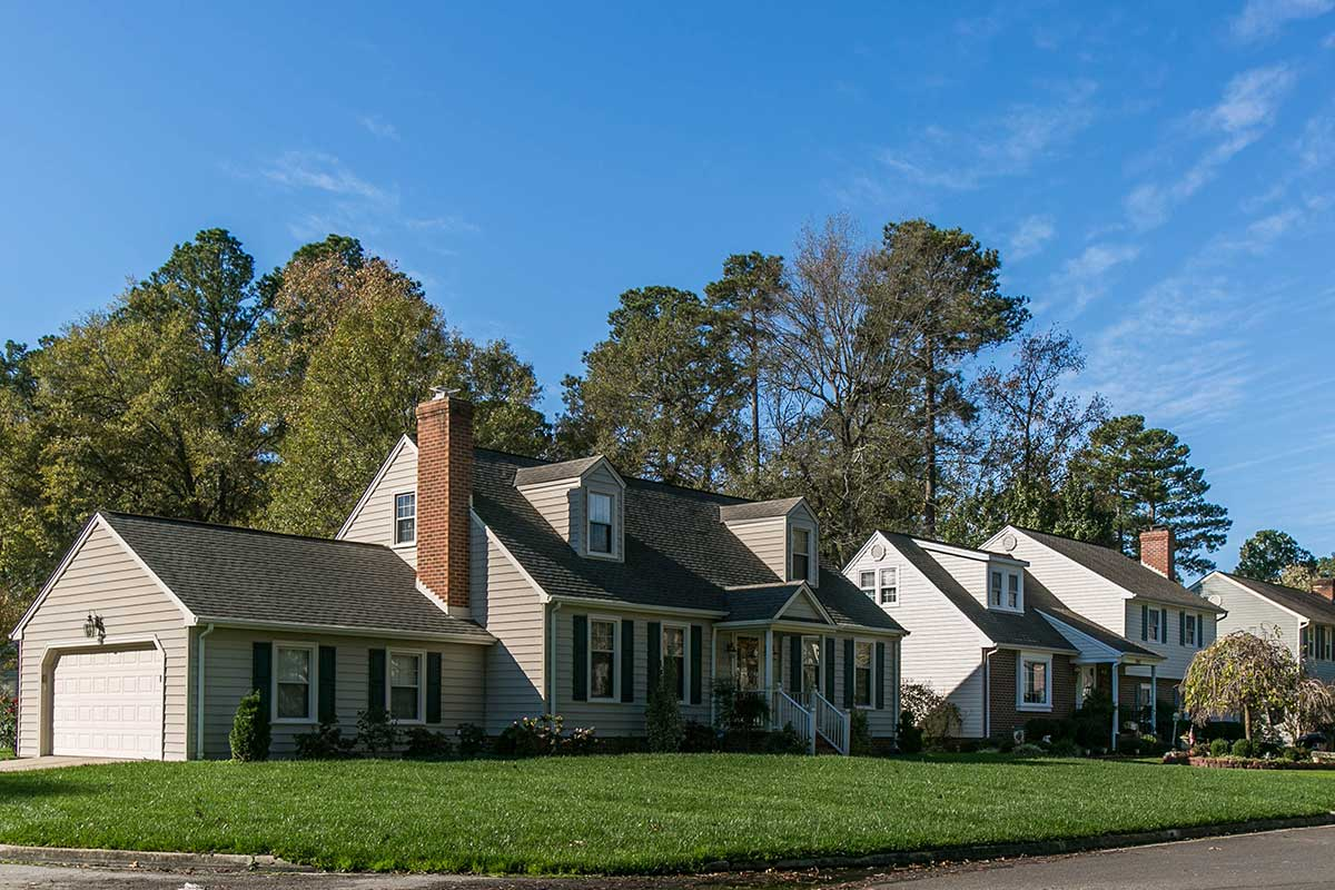 Single family homes in Colonial Heights, VA