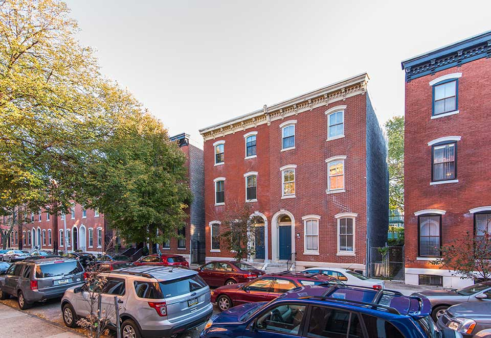 Duplexes in Fairmount, Philadelphia, PA