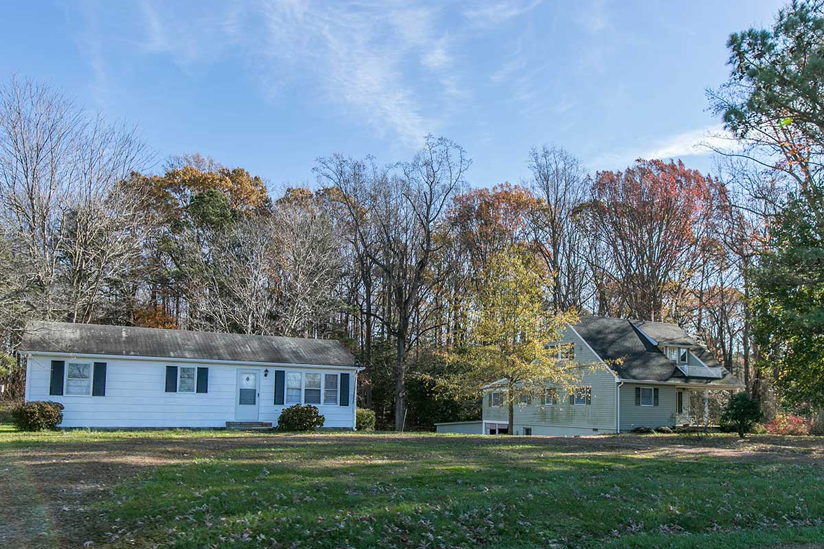 Two single-family homes in Heathsville, VA