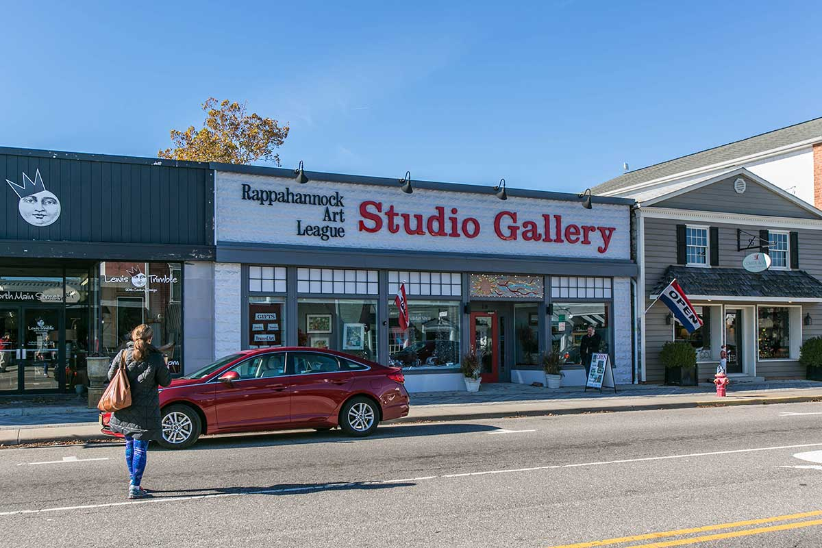 Rappahannock Art League Studio Gallery in Kilmarnock, VA