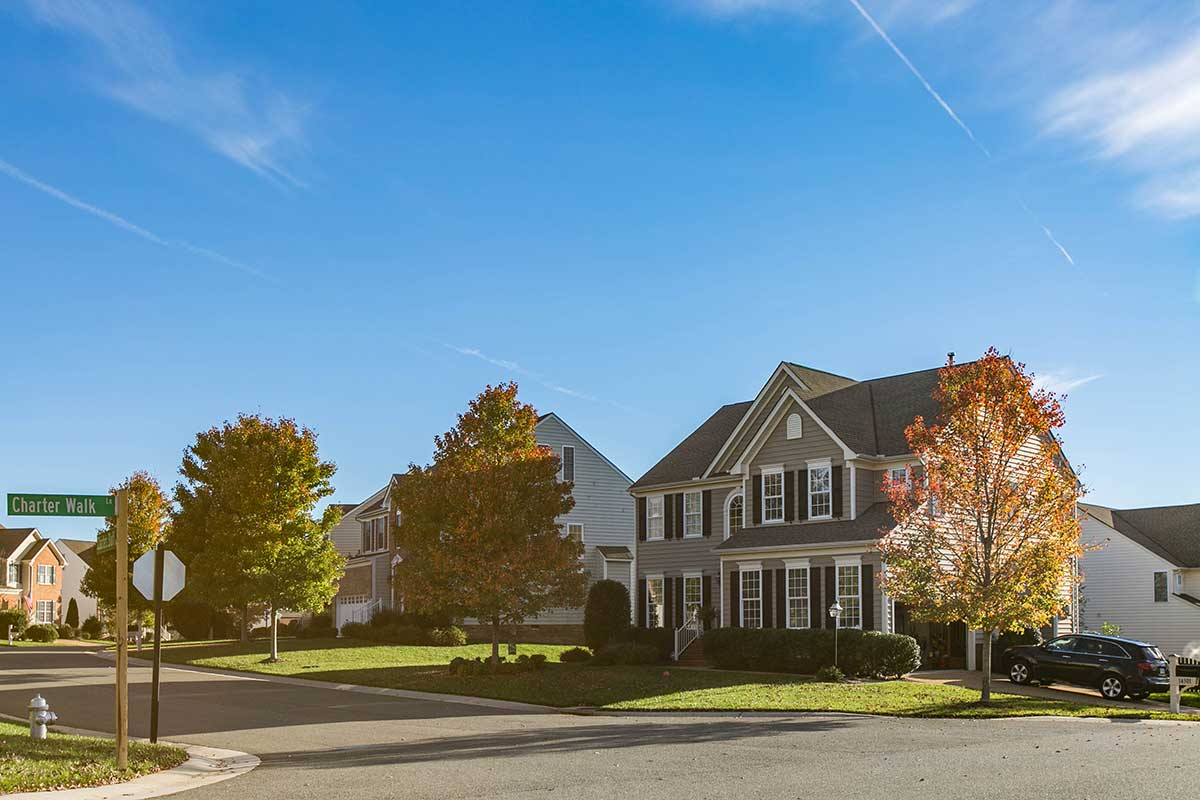 Charter Walk single family homes in Midlothian, VA