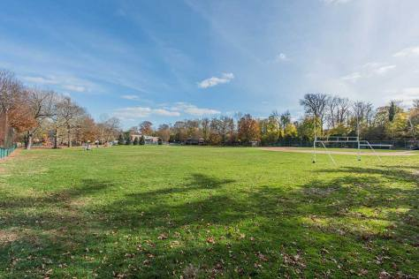 Sport field in Narberth, Philadelphia, PA