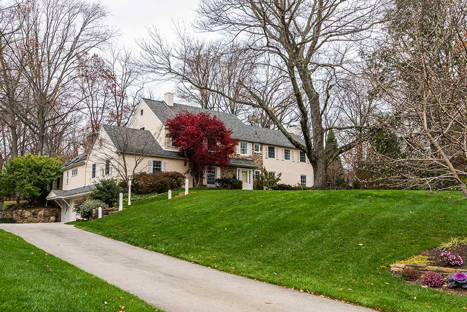 Large single family home in Newtown Square, PA