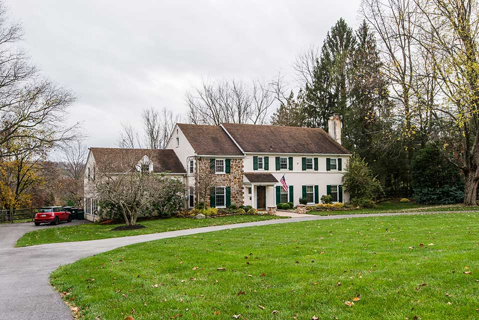 Historic home in Newtown Square, PA