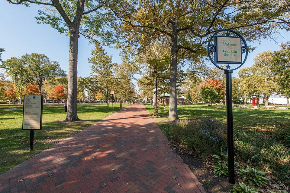 Franklin Square in Philadelphia, PA