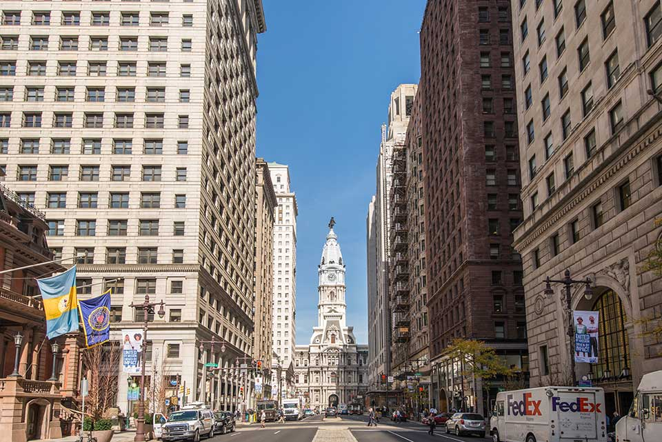 Downtown Philadelphia, PA