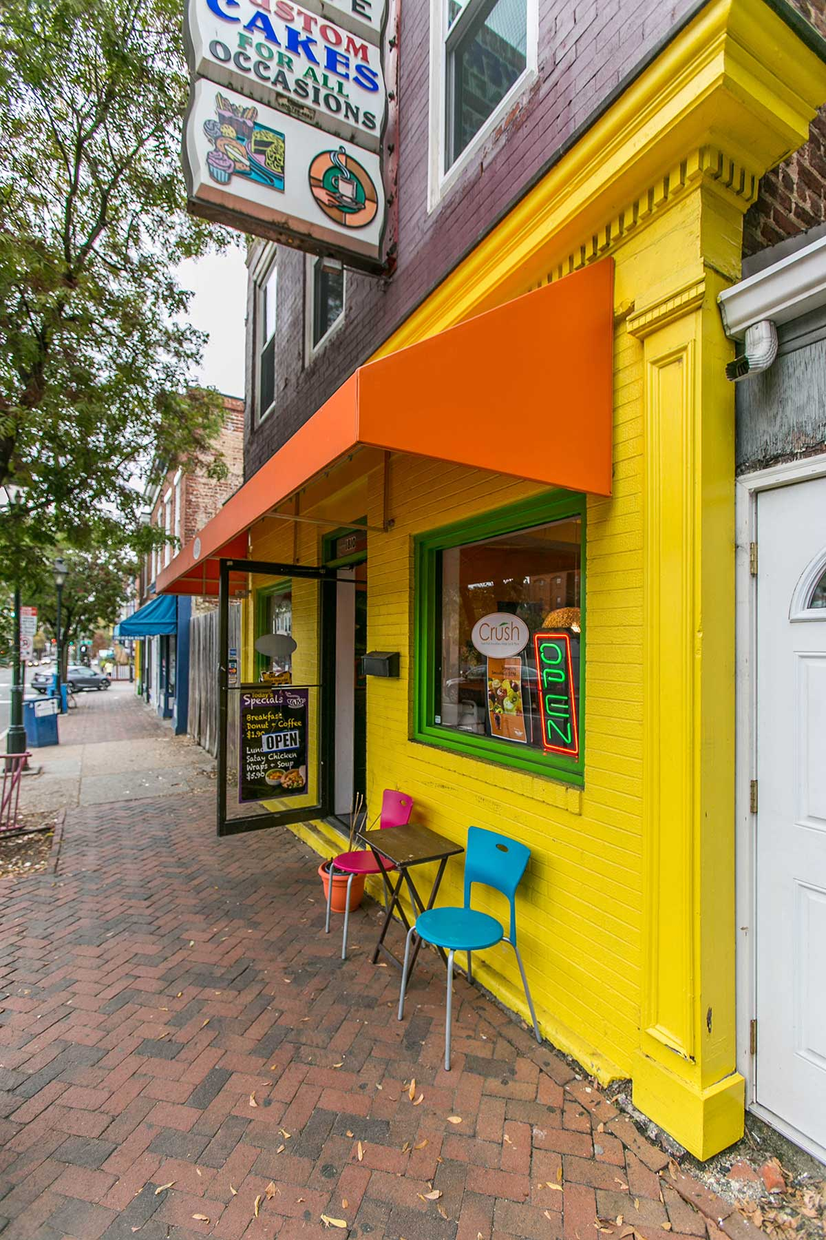 Cake shop in Shockoe Bottom, Richmond, VA