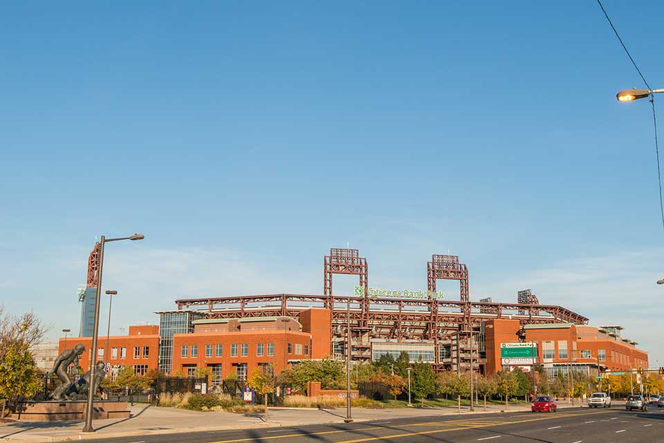 Citizens Bank Park in South Philly, Philadelphia, PA