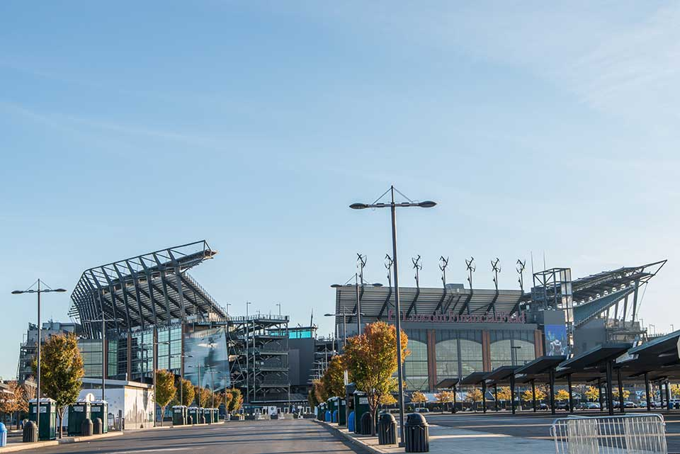 Lincoln Financial Field in South Philly, Philadelphia, PA