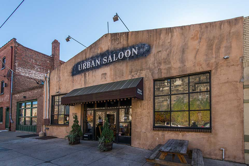 Urban Saloon In Spring Garden, Philadelphia, PA