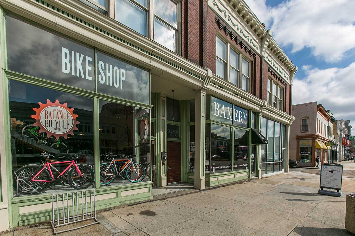 Bike Shop in The Fan, Richmond, VA