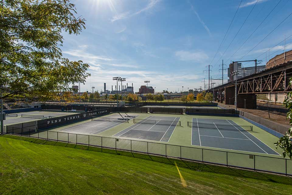 tennis courts in University City, Philadelphia, PA