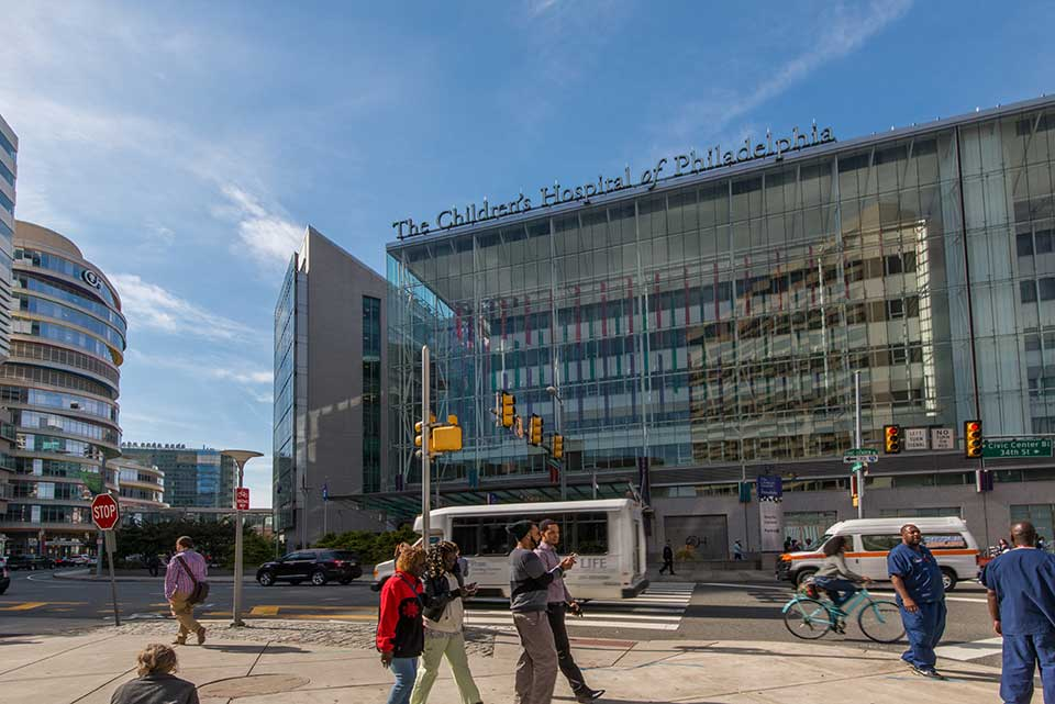 Children's Hospital of Philadelphia in University City, Philadelphia, PA