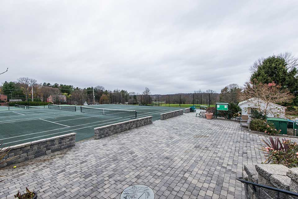 Tennis courts in West Chester, PA