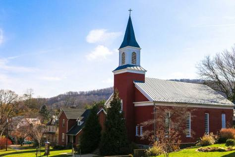 Church in Harper's Ferry, WV
