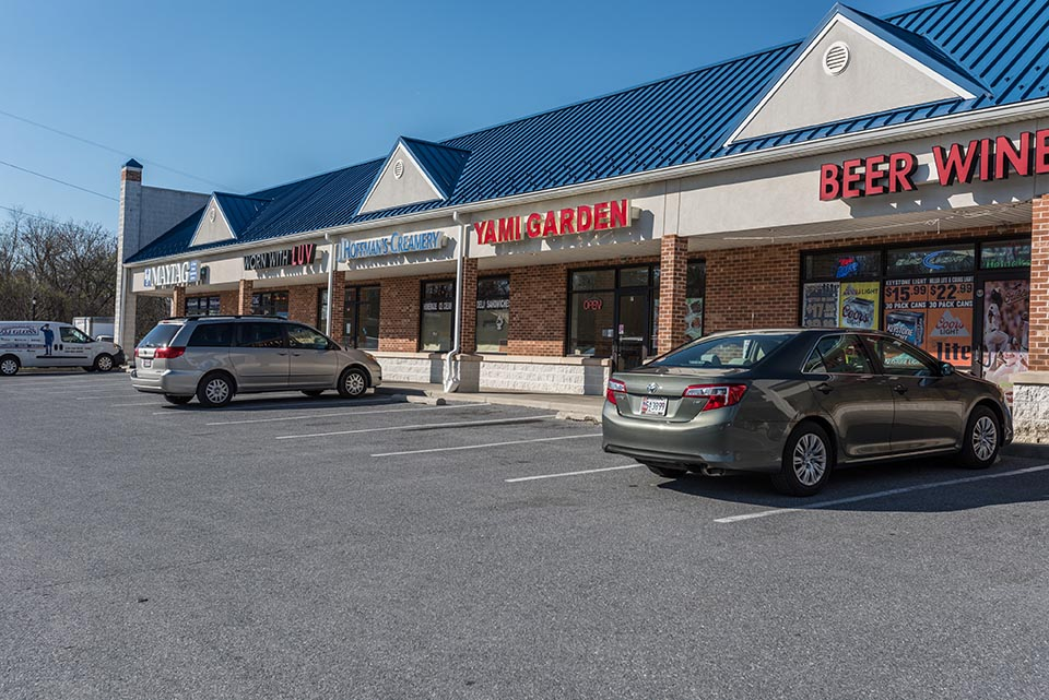 Shopping center in Finksburg, MD