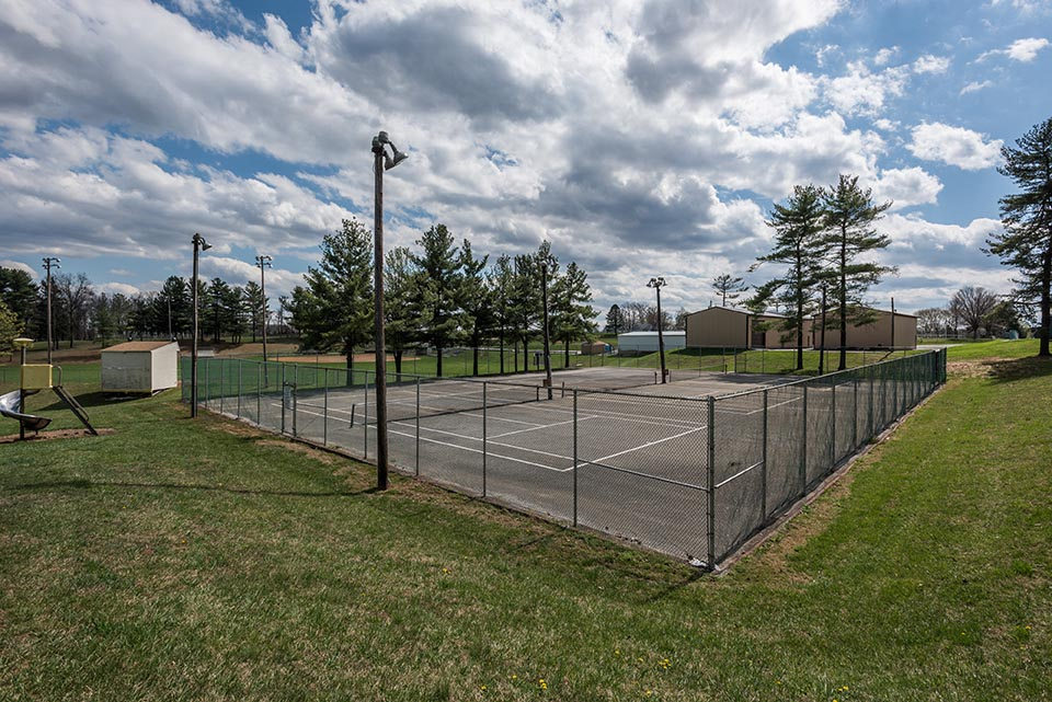 Tennis Court in Manchester, MD