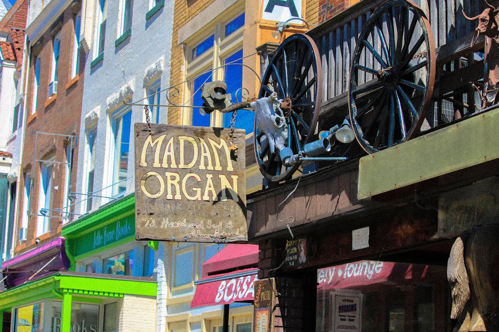 Madams Organ in Adams Morgan, Washington, DC