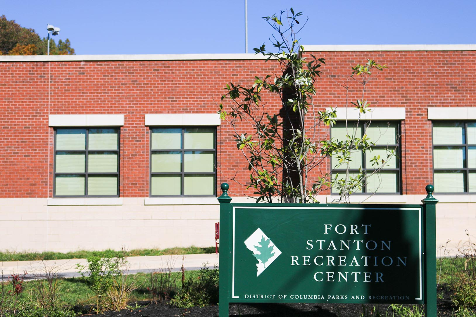 Fort Stanton Recreation Center in Anacostia, Washington, DC