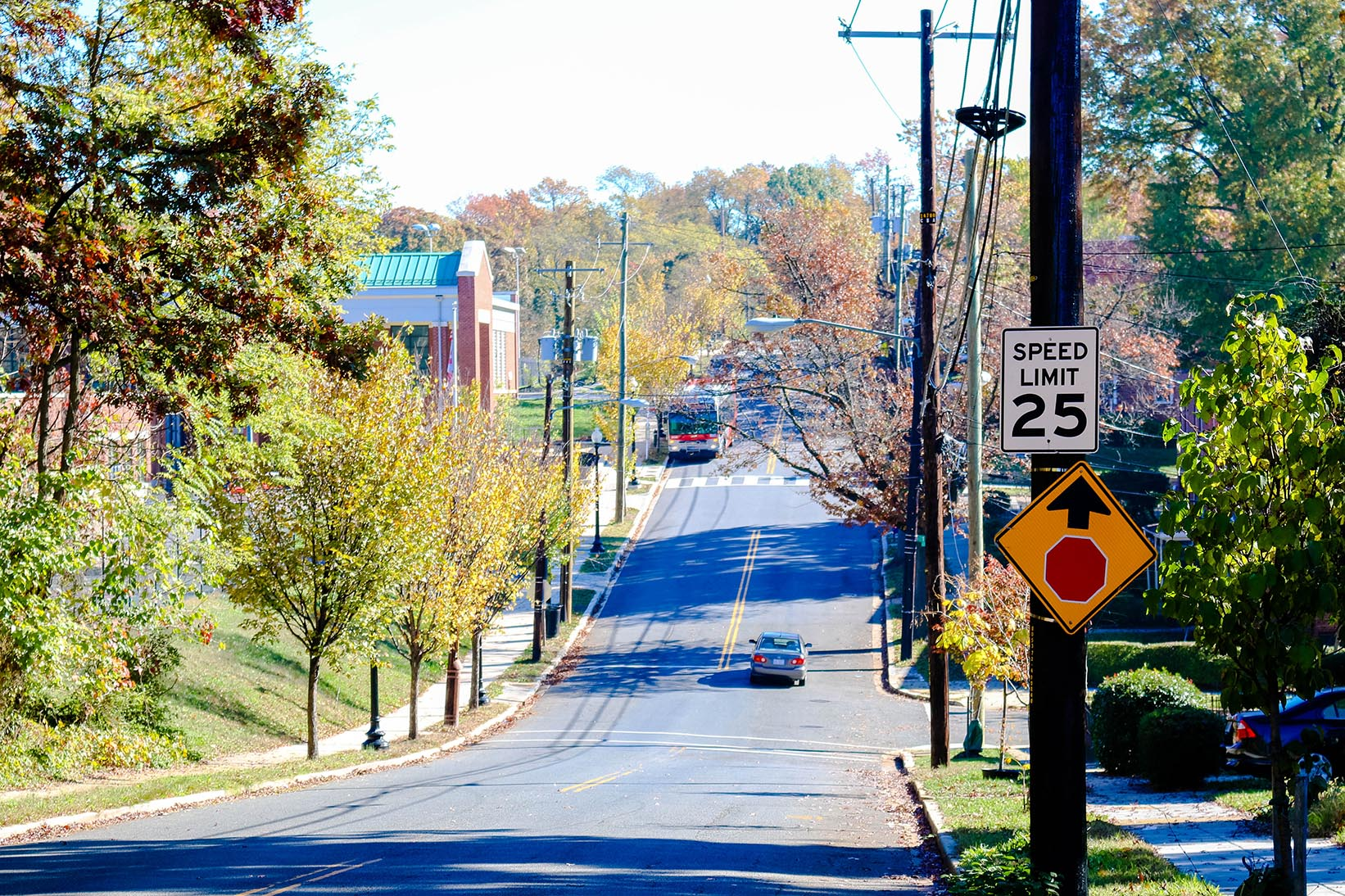 Street in Anacostia, Washington, DC