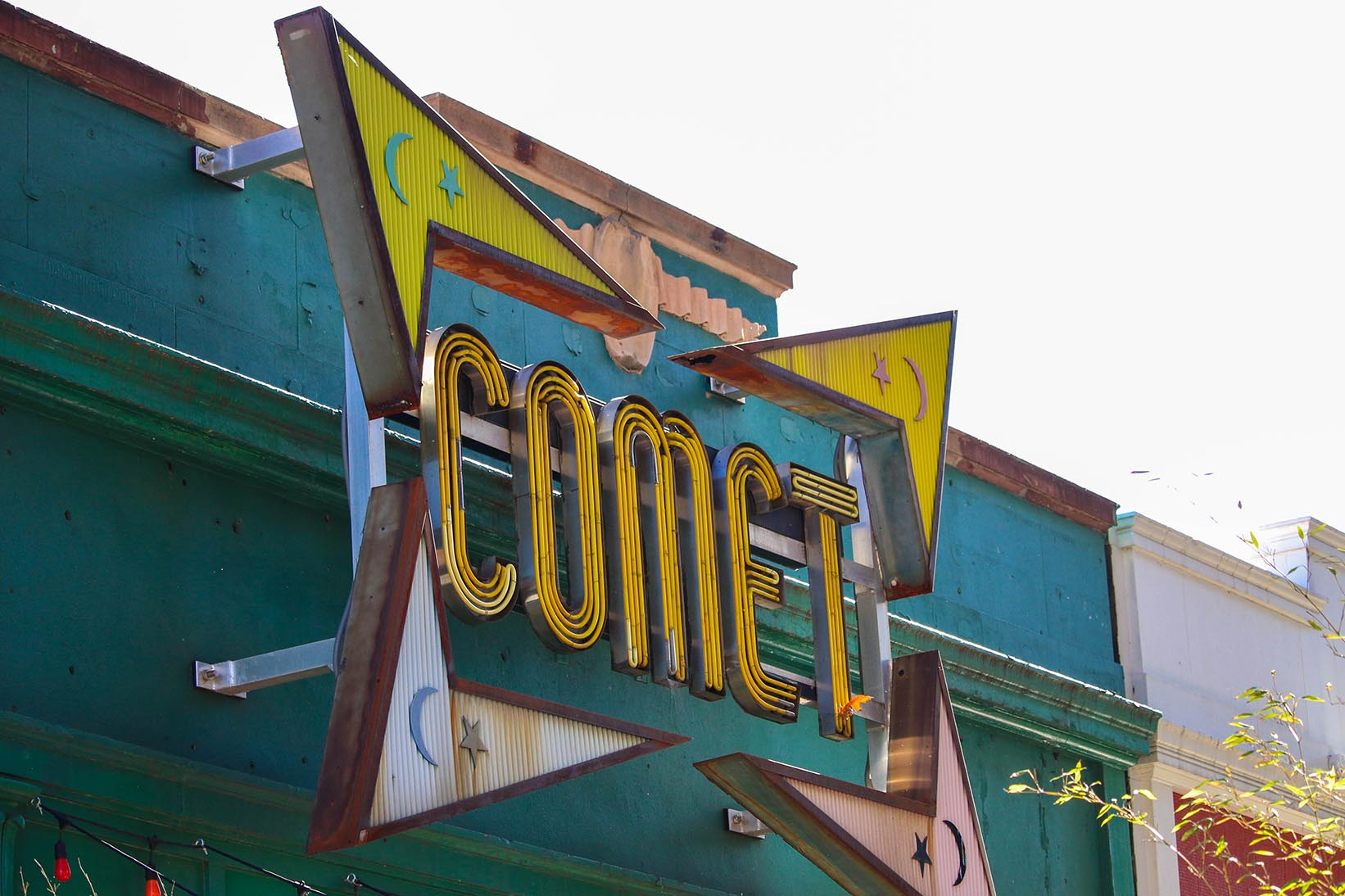 Comet in Chevy Chase, Washington, DC