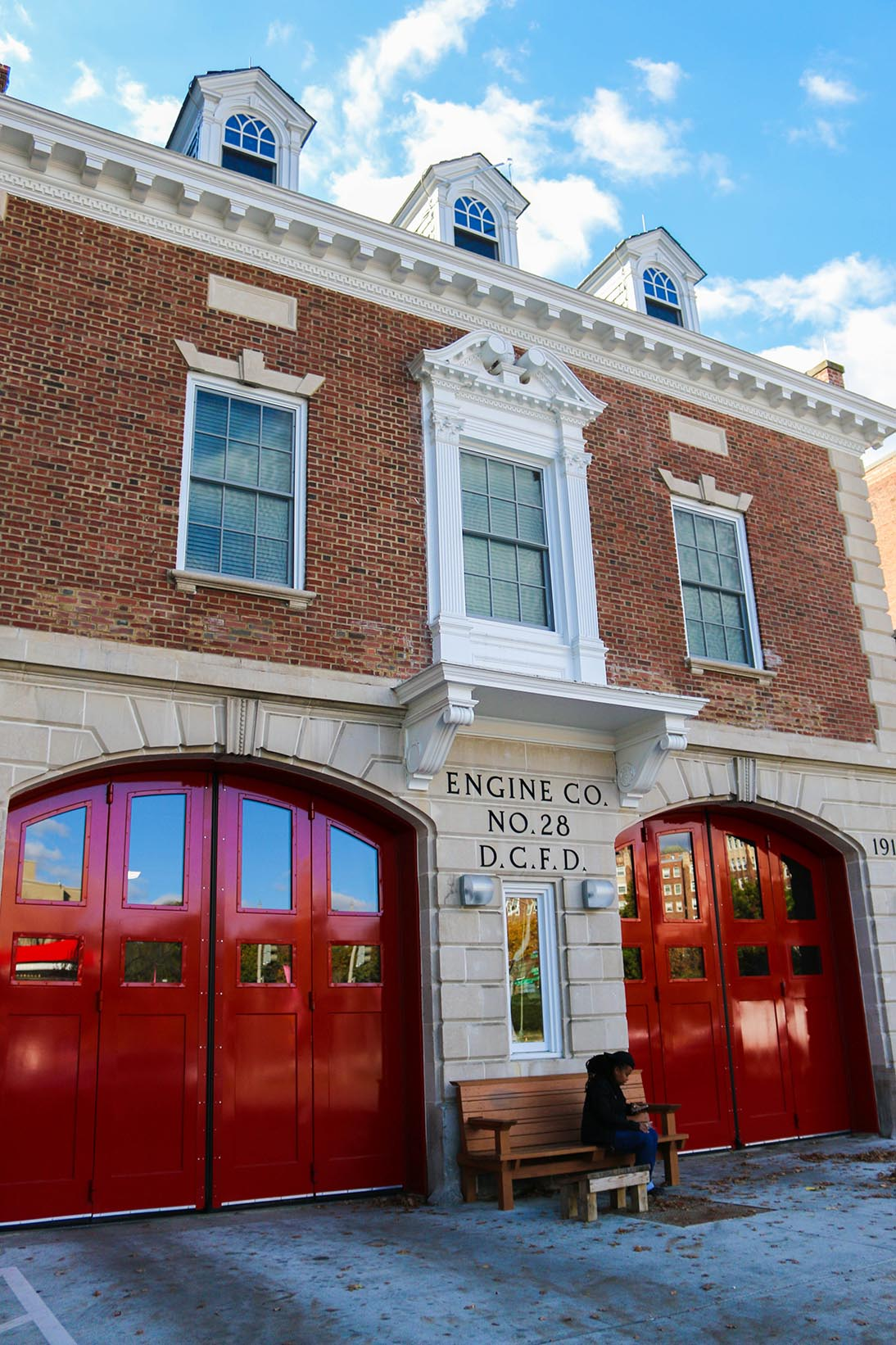 Fire station in Cleveland Park, Washington, DC