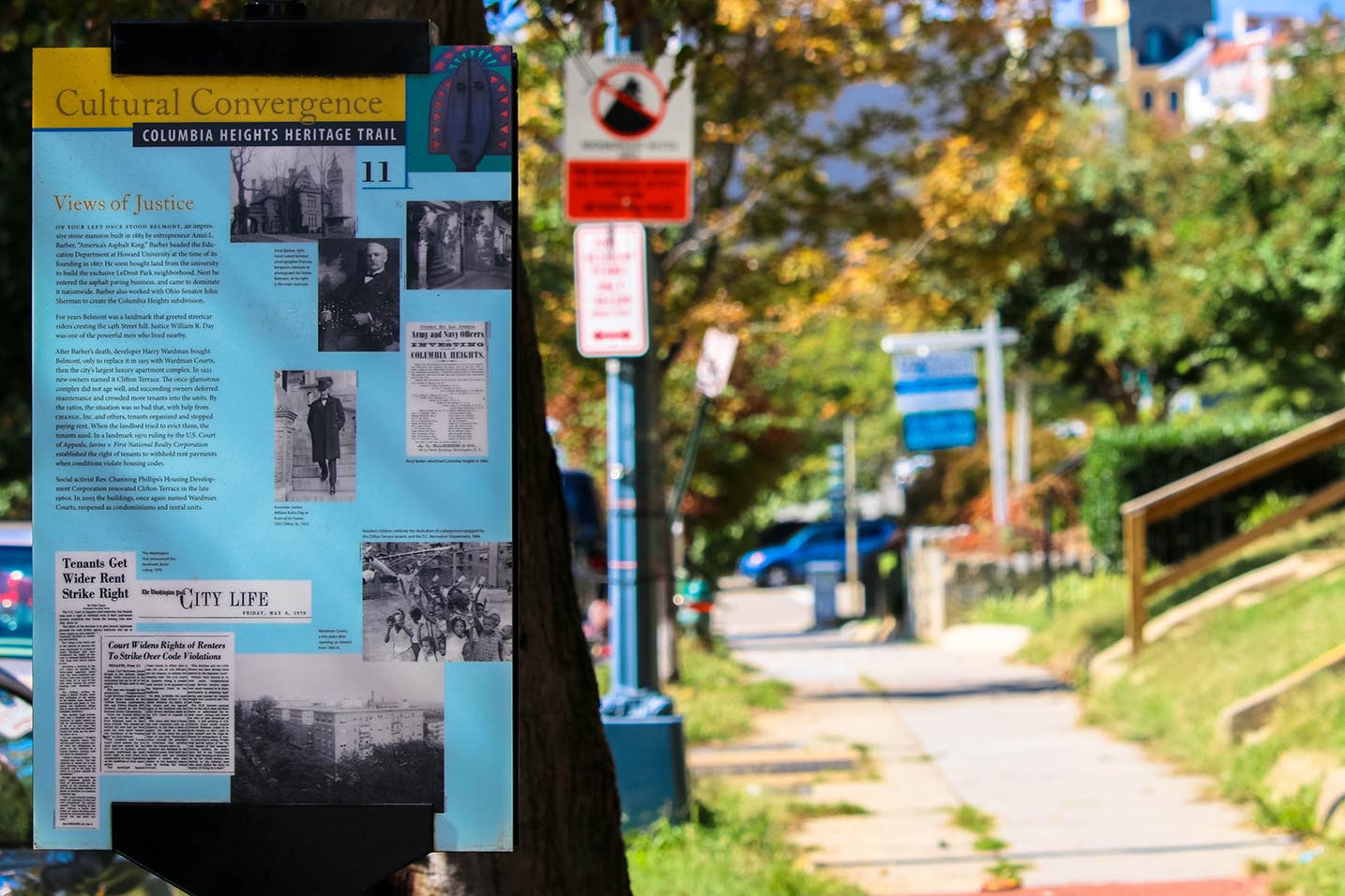 Columbia Heights Heritage Trail in Columbia Heights, Washington, DC